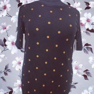 Black tan dots Julia lularoe 3xl
